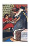 Twelfth Cake Giclee Print by Charles Robinson