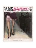 Paris Blackout 1940-41 Giclée-Druck von Armand Vallee