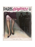 Paris Blackout 1940-41 Giclee Print by Armand Vallee