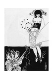 The Stomach Dance. Giclee Print by Aubrey Beardsley