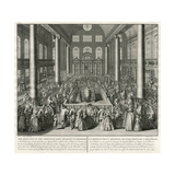 Synagogue Dedication, Picart Giclee Print by C du Bose