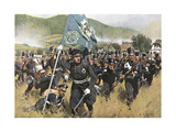 Napoleonic Wars, 1813 Giclee Print by Carl Rochling