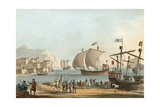Ships of the Crusades Giclee Print by Charles Hamilton Smith