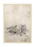 Shakespeare, Fairies Giclee Print by Arthur Rackham