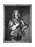 Fourth Earl of Pembroke Giclée-Druck von Antony Van Dyck