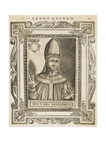 Pope Leo V Giclee Print