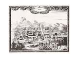 Iran, Qom, Kom C1700 Giclee Print by Carel Allard
