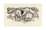 The Imp of Perverse Giclee Print by Arthur Rackham