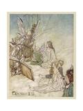 Shakespeare: Fairies Giclee Print by Arthur Rackham