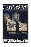 Arthur Rackham - Sleeping Beauty aka Briar Rose Asleep - Giclee Baskı