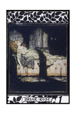 Sleeping Beauty aka Briar Rose Asleep Giclee Print by Arthur Rackham