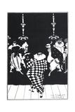 The Scarlet Pastorale Giclee Print by Aubrey Beardsley