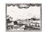 Surinam Scenery C1700 Giclee Print by Carel Allard