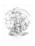 Origin Species, Ch Bennett, Title Page Giclee Print by Charles H Bennett