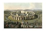 England Stonehenge Giclee Print by Charles Hamilton Smith