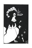 Messalina Giclee Print by Aubrey Beardsley
