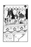 The Barge, Aubrey Beardsley Giclee Print by Aubrey Beardsley