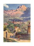 Majorca, Soller 1909 Giclee Print by AS Boyd