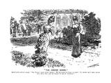 Punch Pasteur Joke Giclee Print by Charles Keene