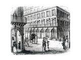 Paris, France - Rue Castiglione Giclee Print