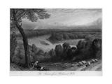 Richmond Hill en Surrey Impression giclée par Birket Foster