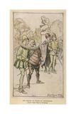 12th Night, Viola, Rackham Giclee Print by Arthur Rackham
