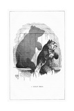 Shadow Drawing. C.H. Bennett, a Great Bear Giclee Print by Charles H Bennett