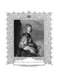 10th Earl Northumberland Giclée-Druck von Antony Van Dyck