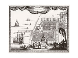 Java, Djakarta C1700 Giclee Print by Carel Allard