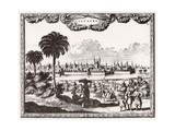 Cairo, Circa 1700 Giclee Print by Carel Allard