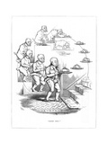 Origin Species, Ch Bennett, Dog - Servant Giclee Print by Charles H Bennett