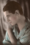 Ivor Novello, Profile Photographic Print by Bertram Park