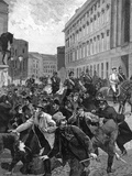 Berlin Riots and Kaiser Photographic Print