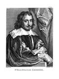Balthasar Gerbier Giclée-Druck von Antony Van Dyck
