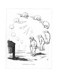 Origin Species, Ch Bennett, Slow Schoolboy - Snail Giclee Print by Charles H Bennett