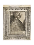 Pope Theodorus I Giclee Print