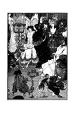 The Toilet of Helen Giclee Print by Aubrey Beardsley