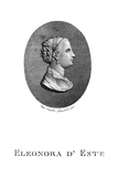 Eleonora D'Este Ferrara Giclee Print by Carlo Lasinio