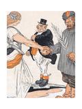 Brest-Litovsk Treaty Giclee Print by Arnold Johnson