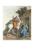 Anglo-Saxon Women Giclee Print by Charles Hamilton Smith
