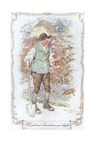 Gardener from Sense and Sensibility Giclee Print by C.e. Brock
