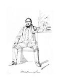 Allan Cunningham Giclee Print by Daniel Maclise