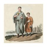 Bardic Scholars Ca 600 Giclee Print by Charles Hamilton Smith
