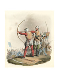 English Archers Premium Giclee Print by Charles Hamilton Smith