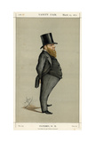 Baron Richard Dowse Mp, Vanity Fair Giclee Print by Carlo Pellegrini
