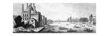 Paris Seine Giclee Print by Daniel Chodowiecki