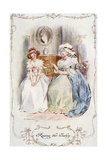 Marianne Dashwood, Austen Giclee Print by C.e. Brock
