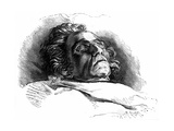 Beethoven (Deathbed) Giclee Print