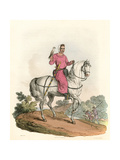 Young Nobleman Hawking Giclee Print by Charles Hamilton Smith
