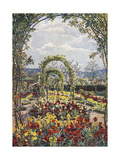 Moor Park Garden 1908 Giclee Print by Beatrice Parsons